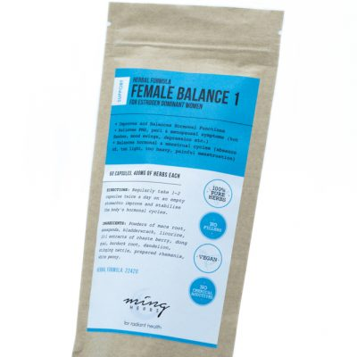 Ming Herbs Female Balance 1