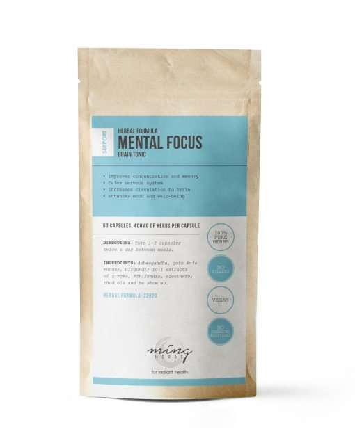 Ming Herbs Mental Focus