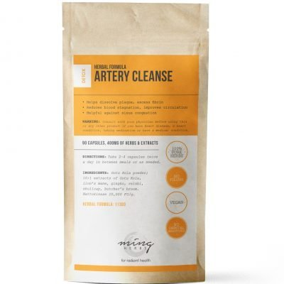 Ming Herbs Artery Cleanse