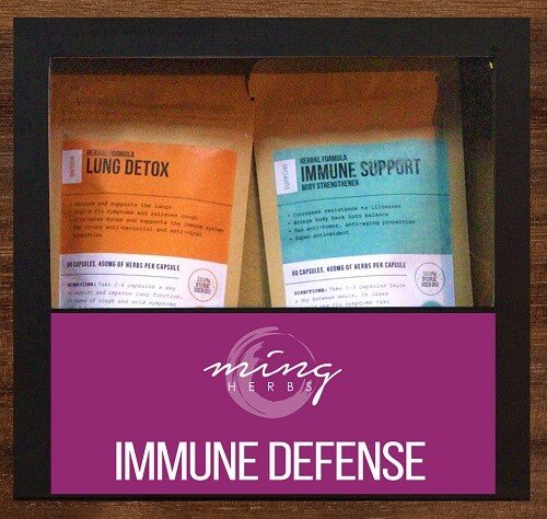Ming Herbs Immune Defense Kit