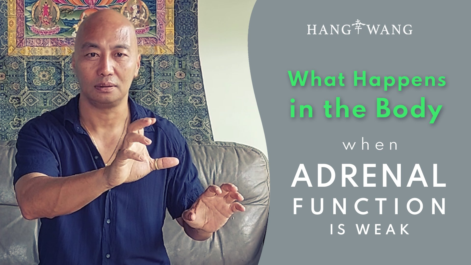 What Happens in the Body when the Adrenal Function is Weak